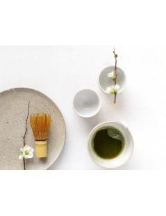 Chá Matcha Biológico - Chá Japonês Tencha