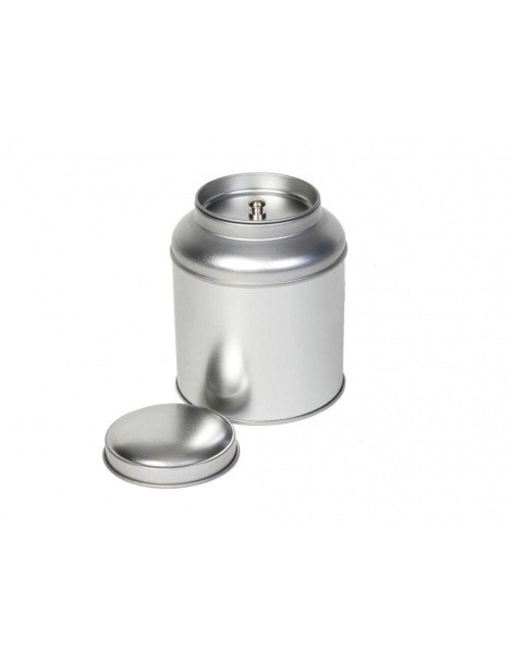 Round Domed Tin Silver - 100g