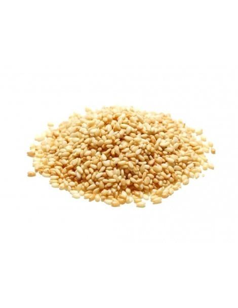 Les graines de sésame brun Blanc
