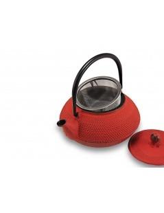 Bule de Ferro Vermelho Tenshi 800ml