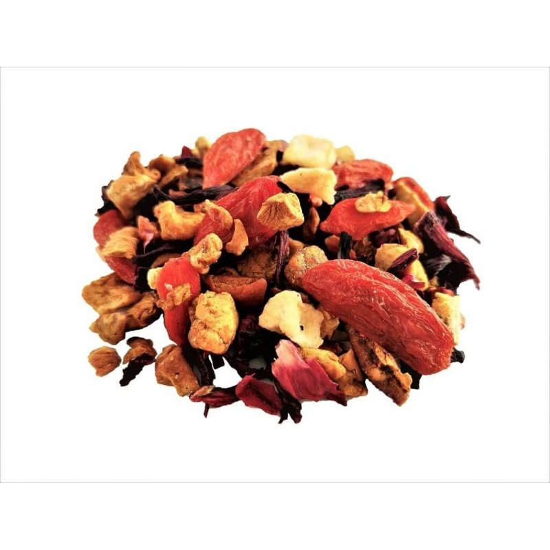 Fruit tea with Berries Goji