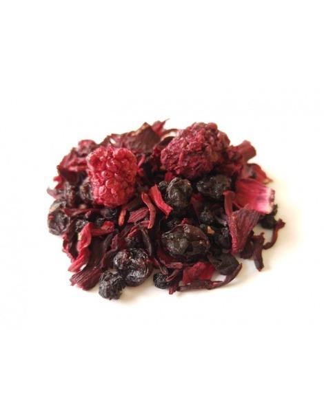 Chá de Frutas Baunilha e Cerejas