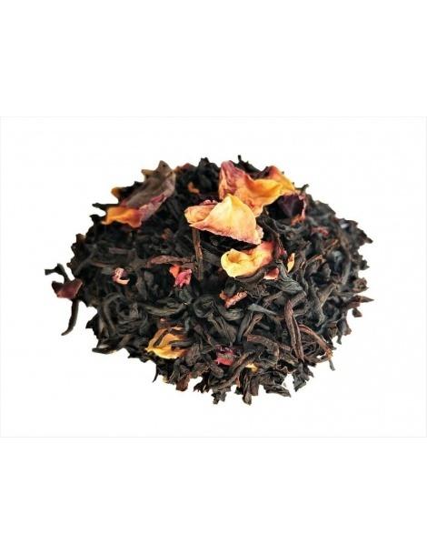 Schwarz Tee Strauß Rosen
