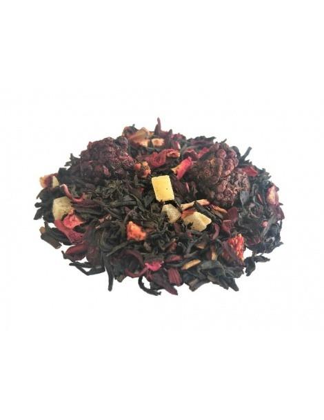 Tè Nero con Frutti Rossi