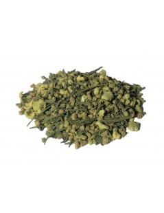 Organic Genmaicha with Matcha