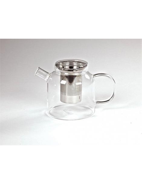 """Teekanne Glas mit Infuser """"Weite Welt"""" - 1200ml"""