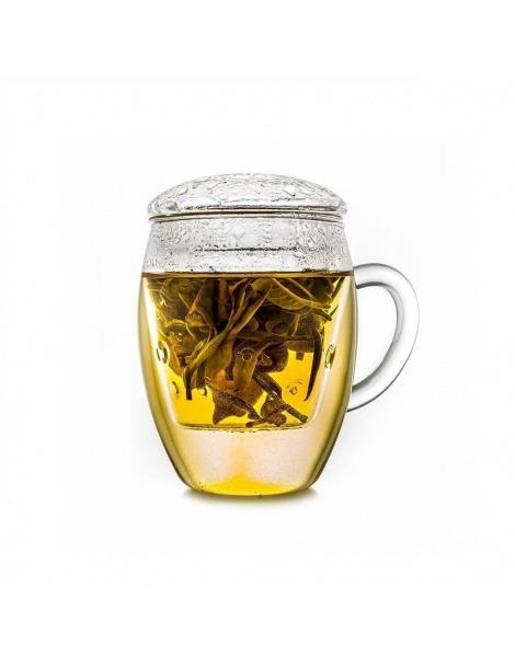 Caneca de Vidro Teaglass - 400ml