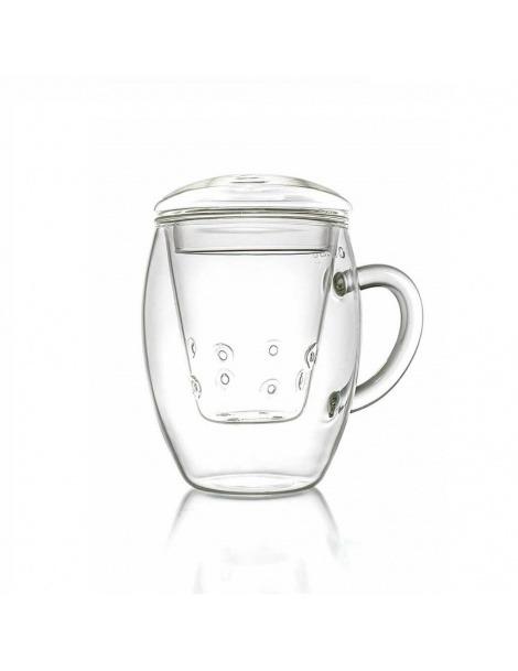 一品脱的玻璃Teaglass-400毫升
