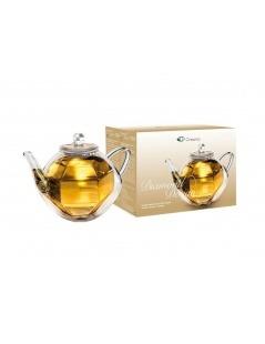 Teekanne Glas-Double - Diamond-Design 800ml