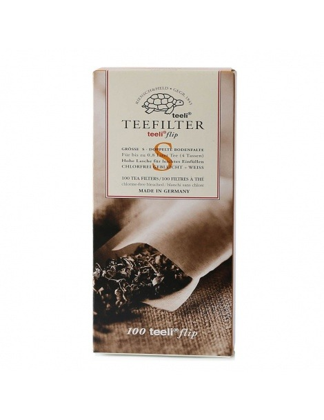 Paper Tea Filters Size S - 100 Units
