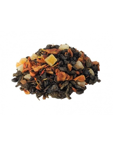 Grüner Tee mit Exotischen Früchten