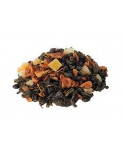 Chá Verde com Frutos Exóticos