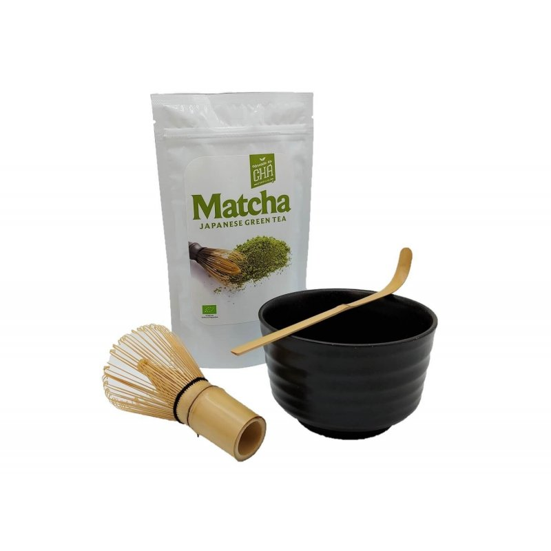 Japanese Matcha Tea Set - Black