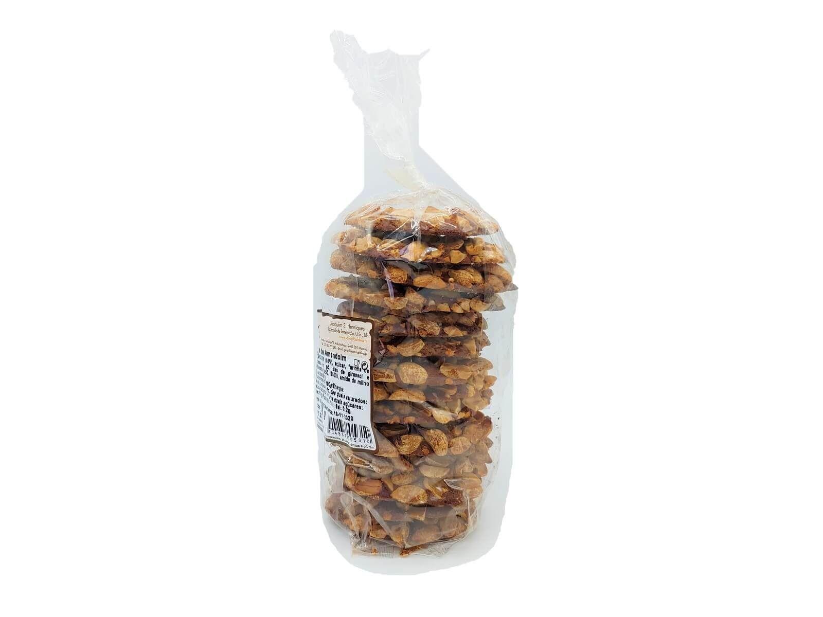 CHÁS DO MUNDO ® - Bolachas de Cacau com Amendoim Quantidade: 275grs (1 pacote)