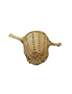 Teesieb Bambus mit zwei Griffen