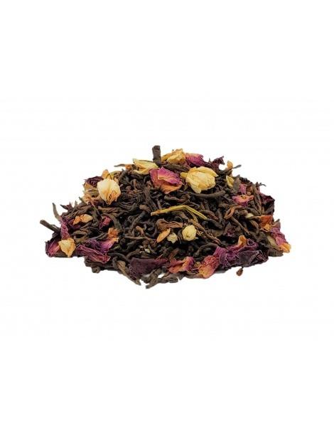 Tè Rosso Pu Erh Rosa Viola