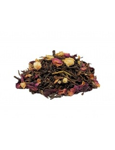 Red tea Pu Erh Pink Purple
