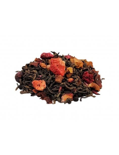 Roter Tee Pu-Erh Beeren des Kaisers