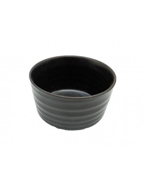 Chawan Black - Taça de Porcelana para Matcha