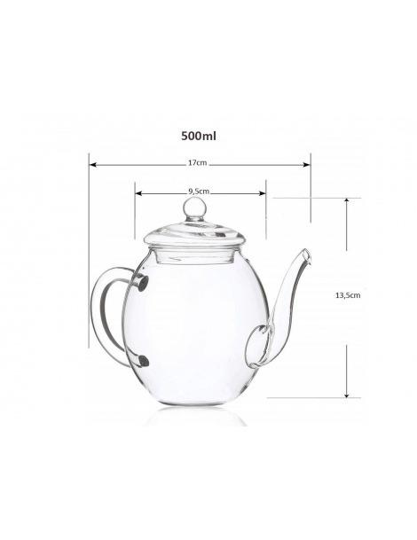 Teiera in Vetro 500 ml