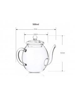 茶壶玻璃-500毫升