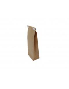 Bolsa de papel Kraft con una Pantalla de 100 gramos