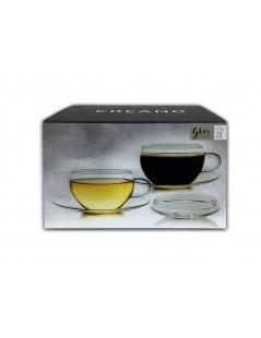 Caixa com 2 Chávenas Tealini - 200ml