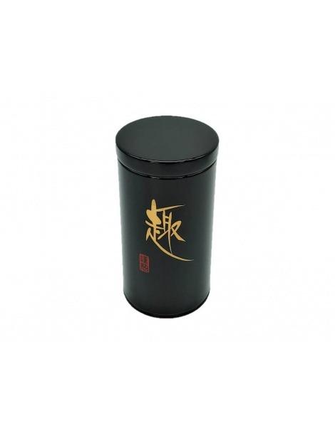 Boîte à Thé Japonaise Noire avec couvercle