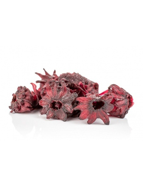 Crystallized Hibiscus