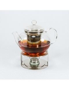 Chauffe-thé en inox