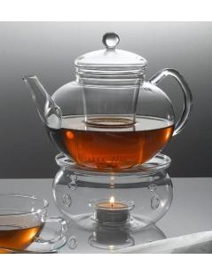 Tea Warmer em Vidro
