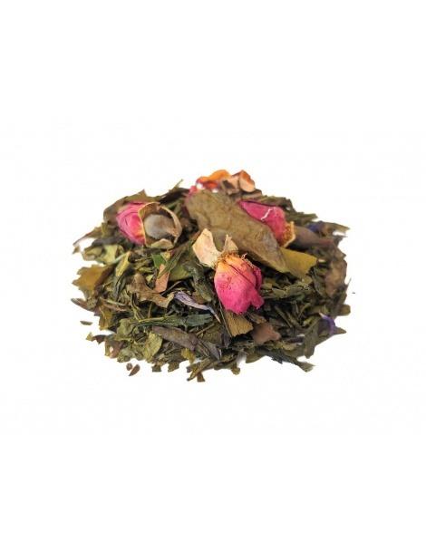 Chá Branco Rosa do Oriente