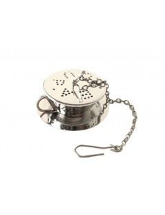 Infuser Tee Edelstahl-Tasse mit Teller