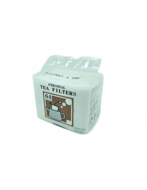 Japanische Persönliche Teefilter - 64 Einheiten