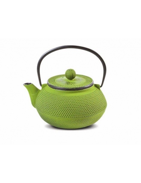 Iron Cast Teapot Green Tenshi - 800ml