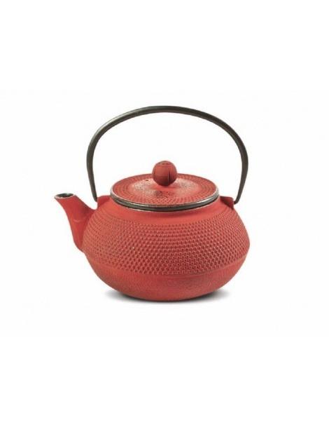 Bule de Ferro Vermelho Tenshi - 800ml