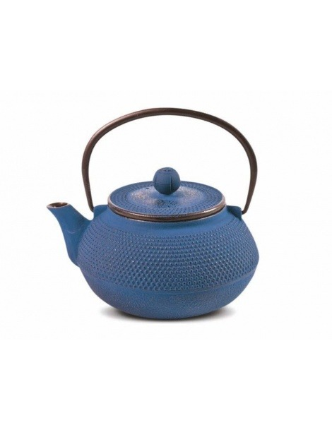 Iron Cast Teapot Blue Tenshi - 800ml
