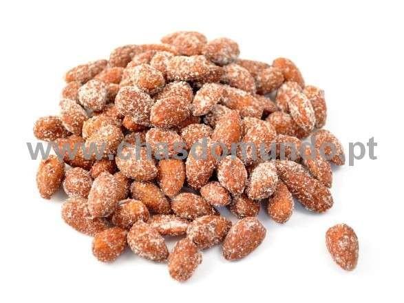 CHÁS DO MUNDO ® - Amêndoas Caramelizadas Peso: 1 Kg