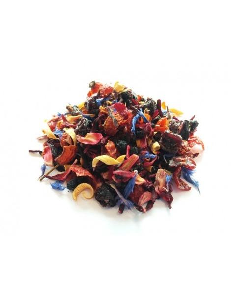 茶叶、水果、橘、水果和激情