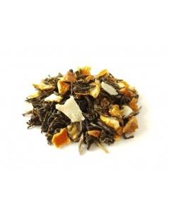 Chá Verde com Maçã e Caramelo