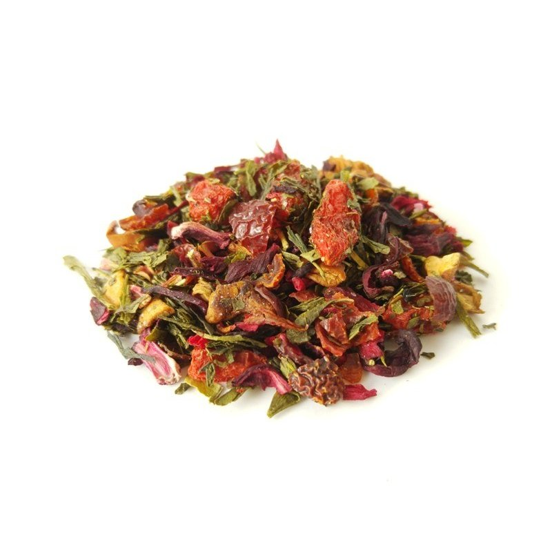 Green tea with Berries of Goji and Acai