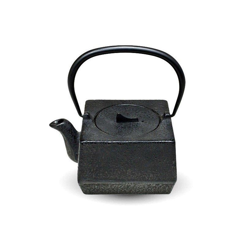 Square Cast Iron Teapot - 800ml