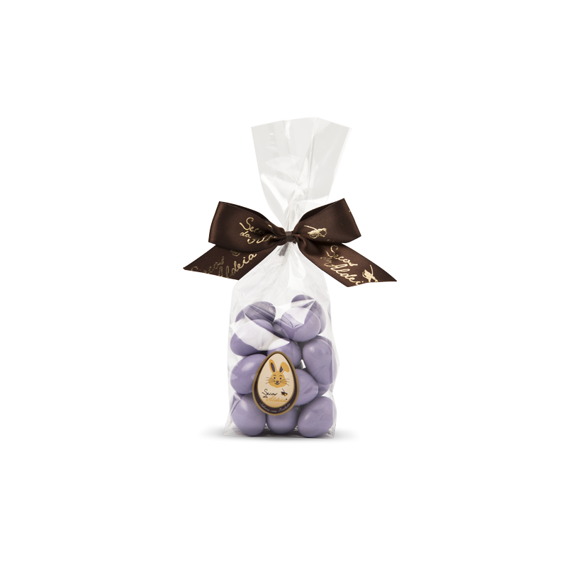 Lilac Chocolate Almonds