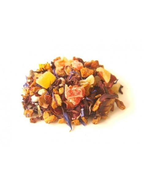 Tee und Obst-Paradies