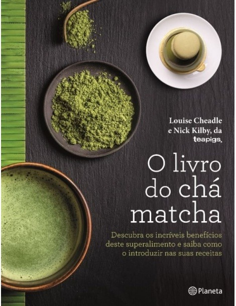 Livro do Chá Matcha