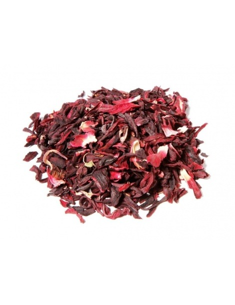 Chá de Hibiscos (Hibiscus sabdariffa)