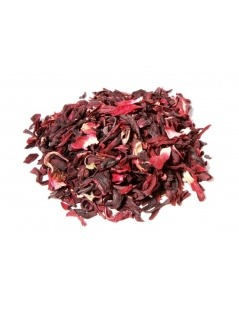 Chá de hibiscos - Hibiscus sabdariffa