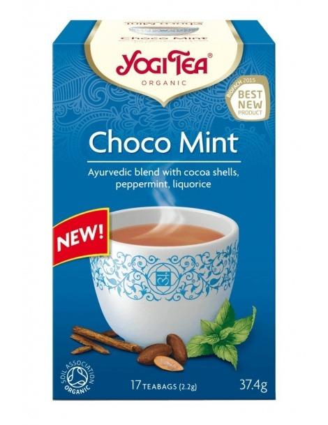 Yogi Tea Chocolate e Menta Bio - 17 saquetas