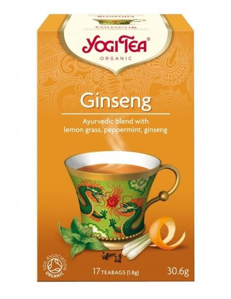Yogi Tea com Ginseng Bio - 17 saquetas