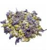 Malvenfarbene Blumen (Malva Sylvestris)
